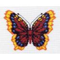 Бабочка Канва с рисунком для вышивки Матренин посад