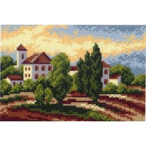 Южный городок Ткань с рисунком Матренин посад