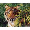 Индокитайский тигр Ткань с рисунком Матренин посад