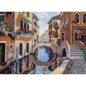 На улицах Венеции Ткань с рисунком Матренин посад
