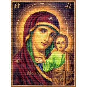 Икона Божей Матери Казанская Ткань с рисунком Матренин посад