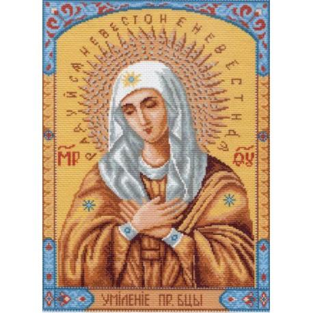 Икона Умиление Ткань с рисунком Матренин посад