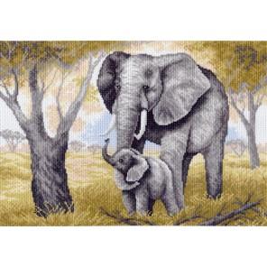 Слониха Ткань с рисунком Матренин посад