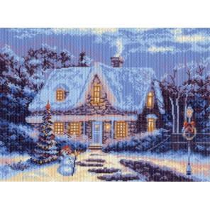 Зимняя сказка Ткань с рисунком Матренин посад