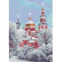 Зимний храм Ткань с рисунком Матренин посад