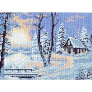 Морозное утро Ткань с рисунком Матренин посад