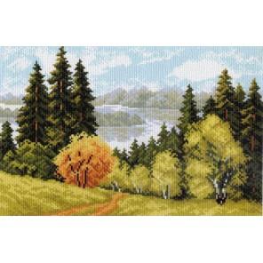 Осеннее очарование Ткань с рисунком Матренин посад