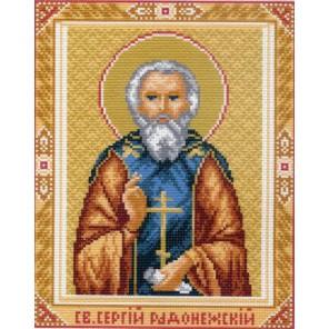 Святой Сергий Радонежский Ткань с рисунком Матренин посад