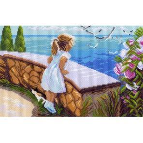 Летняя прогулка Ткань с рисунком Матренин посад