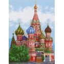 Храм Василия Блаженного Ткань с рисунком Матренин посад
