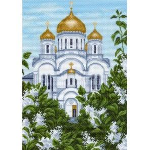 Преображенский собор Ткань с рисунком Матренин посад