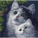 Котята Ткань с рисунком Матренин посад