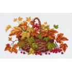 Осенние листья Ткань с рисунком Матренин посад