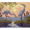 На закате Ткань с рисунком Матренин посад