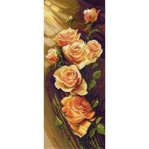 Жёлтые розы Ткань с рисунком Матренин посад