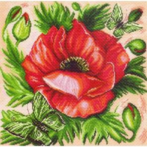 Мак Ткань с рисунком Матренин посад