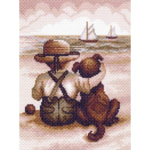 Всегда вместе Ткань с рисунком Матренин посад