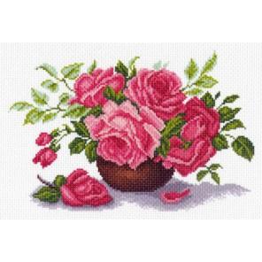 Букет роз Ткань с рисунком Матренин посад