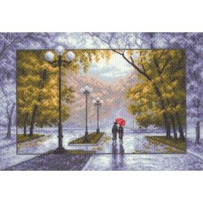 Осень Ткань с рисунком Матренин посад