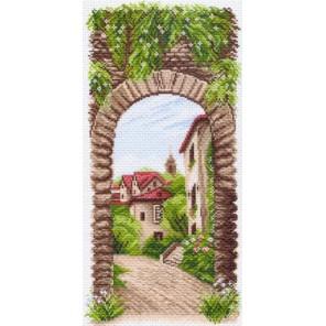 Уютное местечко Ткань с рисунком Матренин посад