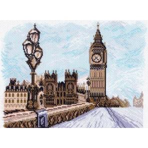 Лондон Ткань с рисунком Матренин посад