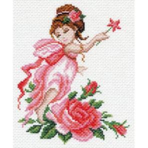 Фея роз Ткань с рисунком Матренин посад