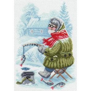 Рыбак Ткань с рисунком Матренин посад