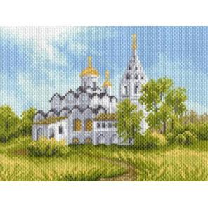 Белая церковь Ткань с рисунком Матренин посад