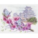 Восточная весна Ткань с рисунком Матренин посад