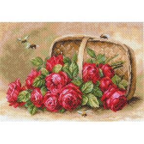 Знойные розы Ткань с рисунком Матренин посад