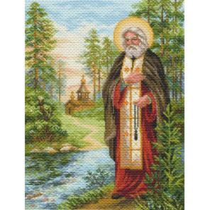 Серафим Саровский Ткань с рисунком Матренин посад