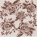 Танец роз Ткань с рисунком Матренин посад