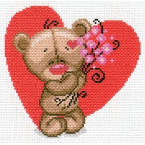 Мишуткина любовь Ткань с рисунком Матренин посад