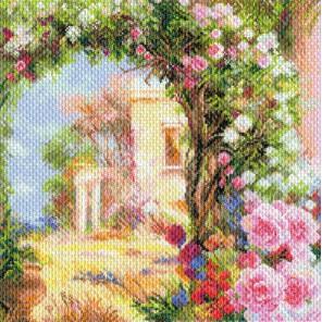 Греция в цвету Ткань с рисунком Матренин посад