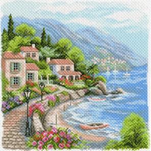 Морской бриз Ткань с рисунком Матренин посад