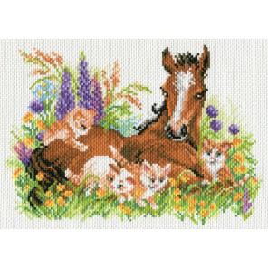 Счастливое детство Ткань с рисунком Матренин посад