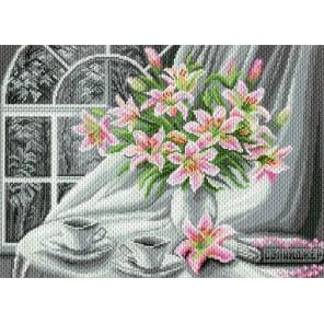 Белоснежное утро Ткань с рисунком Матренин посад