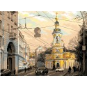 Москва,ул.Солянка Ткань с рисунком Матренин посад