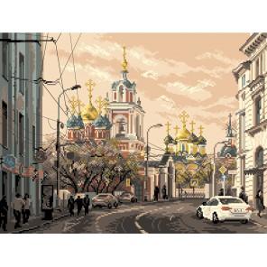 Москва,ул.Варварка Ткань с рисунком Матренин посад