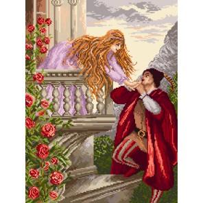 Признание Ромео Ткань с рисунком Матренин посад