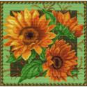 Солнечное настроение Ткань с рисунком Матренин посад