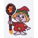 Домовенок Канва с рисунком для вышивки Матренин посад