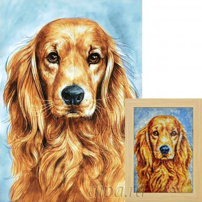 Преданный пёс Алмазная вышивка мозаика Гранни