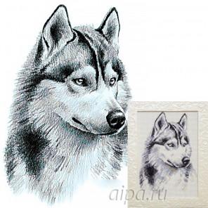 Потомок волков Алмазная вышивка мозаика Гранни