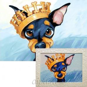 Король ринга Алмазная вышивка мозаика Гранни