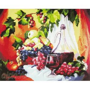 Вино и фрукты Алмазная мозаика вышивка Painting Diamond
