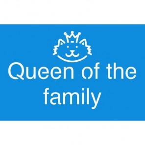 Королева семьи Трафарет 10х15 см Marabu