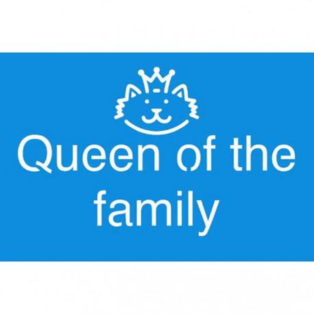 Queen off the Family Трафарет 10х15 см Marabu