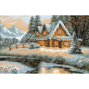 Зимний пейзаж Набор для вышивания Риолис