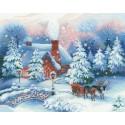 Накануне Рождества Набор для вышивания Риолис